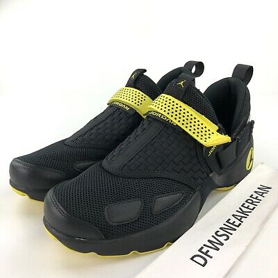 sneakers for cheap 56ec1 1a871 Nike Air Jordan Trunner LX Men s 10 Thunder Black Opti Yellow Shoes 897992- 031