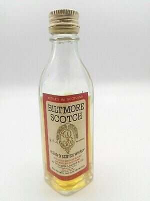 Mignon miniature minibottle Whisky Biltmore Scotch