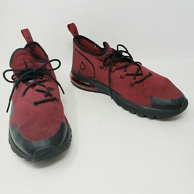 c34439077a Nike Air Max Flair SE Running Shoes Team Red Black AA3824-600 Mens Size 10.5