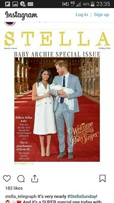 UK Stella Magazine Harry Meghan Royal Baby Archie Souvenir 12 May 2019