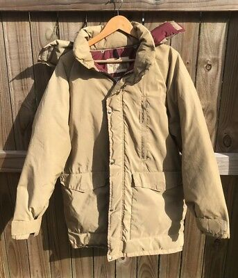 cf6b61c7615 VINTAGE DOWN JACKET 70's The North Face 1970's Brown Label HIKING OUTDOORS  ...