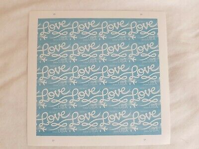 USPS Love Skywriting - Sheets of 20 First-Class Forever Stamps
