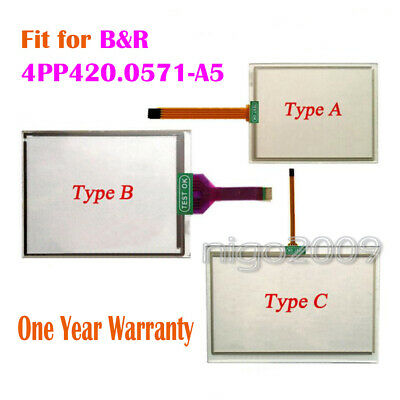 1X For  B/&R 4PP420.0571-K45 Touch Screen Glass Panel