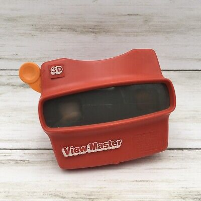 Vintage Original View Master 3D Viewer Red Classic Viewmaster Toy Slide Viewer