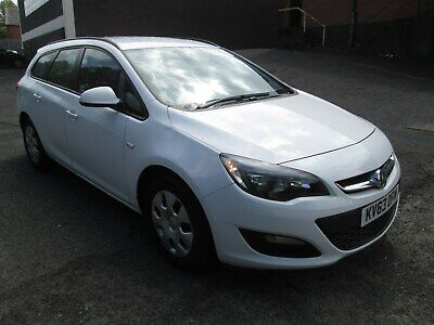 Late 2013 Vauxhall Astra Exclusive Cdti Ecoflex F/S/H Full Mot? New Facelift
