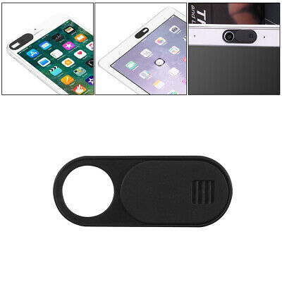 Webcam Cover Thin 0.7mm for Camera Laptop Mobile Tablet Macbook Adhesive Black