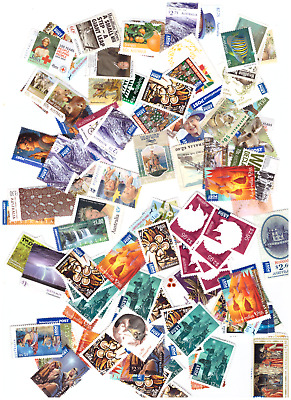 Australia - Unfranked Stamps Off Paper No Gum - Face Value  $210