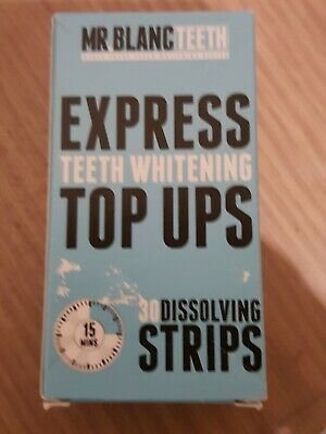 Mr Blanc Express Teeth Whitening . 7 x loose strips (week) for £2.95