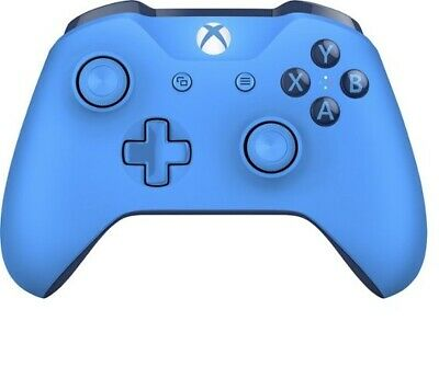 Xbox One S Microsoft Wireless Blue Controller 1708