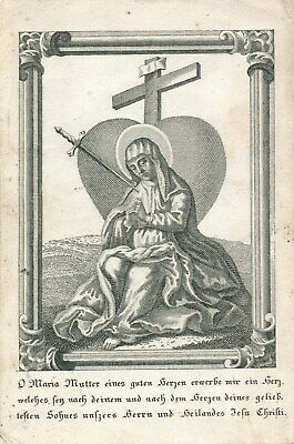 Nr 26638 Andachtsbild Maria Mutter Gottes   7,5 x 11,5 cm