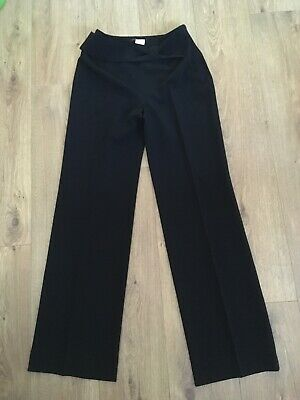 LEATHER TROUSERS  BLACK, Jitrois, Size French 38 (UK 10) - $127 57