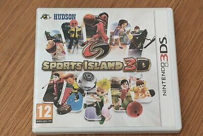 Sports Island 3D - 3Ds - Very Good Condition