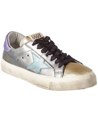 191a2ece3 GOLDEN GOOSE MAY Leather Sneaker - $369.99 | PicClick