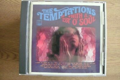 The Temptations - With A Lot Of Soul (CD) . FREE UK P+P ........................