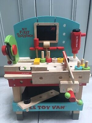 Peachy Le Toy Van Wooden Kids My First Toolbench 10 50 Picclick Uk Gamerscity Chair Design For Home Gamerscityorg