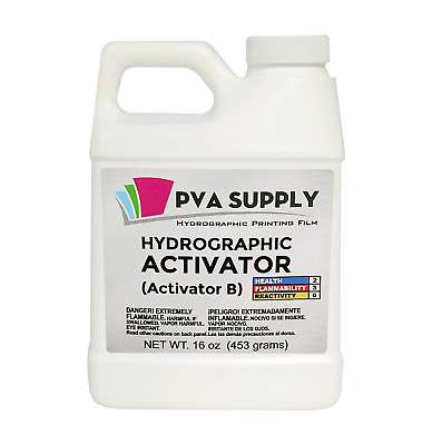 HYDROGRAPHIC HYDRO WATER transfer Activator 16oz Water Transfer Printing  DIPPING