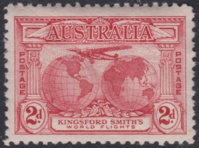 Australia, 1931 Mar 19,  2d. red, muh, Kingsford Smith, BW.141; SG.121