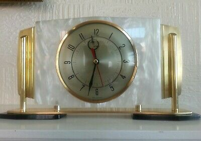 Art deco Metamec vintage retro clock