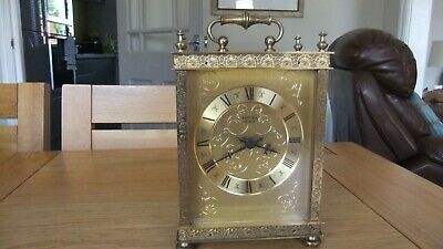 Large Brass  working Carriage Clock,