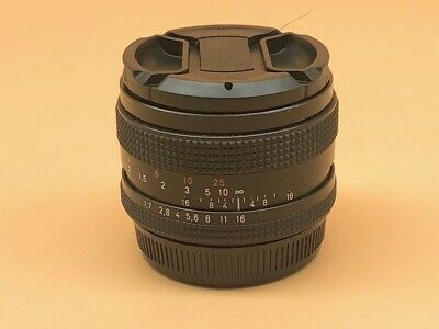 Carl Zeiss Planar 50mm f1.7 - Red T* For Contax Yashica C/Y Bayonet Mount