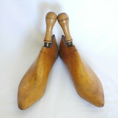 Pair of Antique wooden shoe stretchers