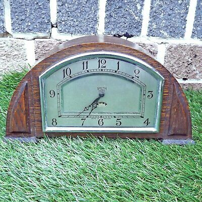Early Smiths Sectric Art Deco Mantle Clock - Electric - Untested Sold As Seen