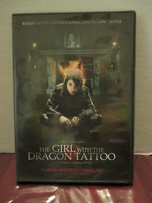 The Girl With the Dragon Tattoo (DVD, 2010) - Pictures, Discs & Covers, Inserts