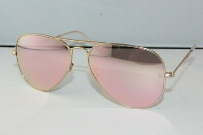 6563c3968 GAFAS DE SOL Ray-Ban RB3025 L0205 Aviador large metal gold nueva N.B ...