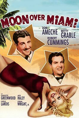 Moon Over Miami   1941    Betty Grable & Don Ameche  DVD