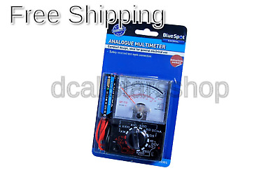 Blue Spot 31501 Analogue Multimeter 1 Pack of 20