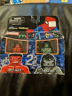 Marvel Minimates Series 25 Red Hulk /& Ska/'ar