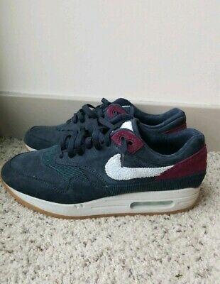 on sale 300de 1cdbb Nike Air Max 1 Premium Crepe Sole Dark Obsidian Size 9.5 US (9.5 10