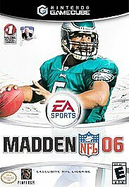 Madden NFL 06 (Nintendo GameCube, 2005)  Fast Shipping    Players  Football