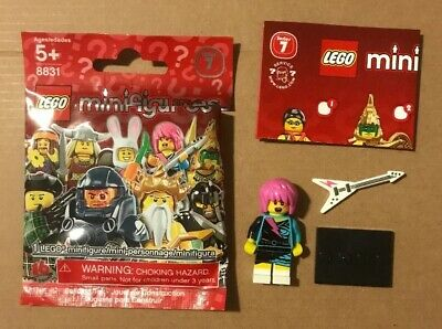 LEGO 8805 Minifigures Series 5 Clown New 2011 w// Wrapper and Checklist USA!