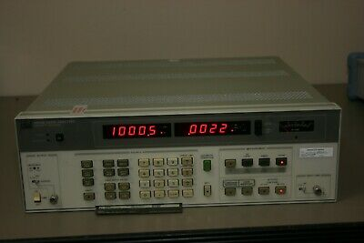HP 8903B Audio Analyzer 30Day Warranty recent calibration Cmessage CCITT filters