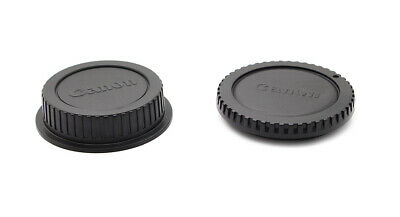 Camera Body and Rear Lens Caps for Canon EF 50mm f/1.2L USM