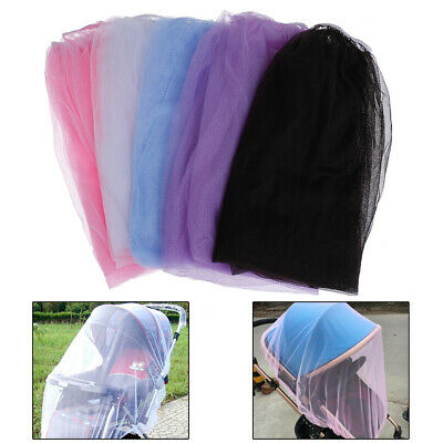 Baby stroller pushchair cart mosquito insect net safe mesh buggy crib netting