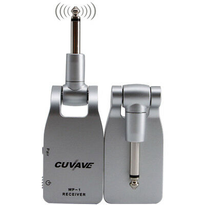 CUVAVE WP-1 2.4G WIRELESS GUITAR SYSTEM TRANSMITTER RECEIVER USB CHARGE Wonder