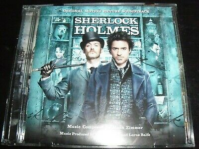 Sherlock Holmes Soundtrack CD By Hanz Zimmer – Like New