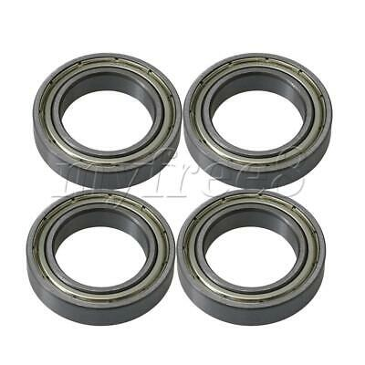 4x Silver Bearing Steel Micro Ball Shielded Precision Bearing Replacements