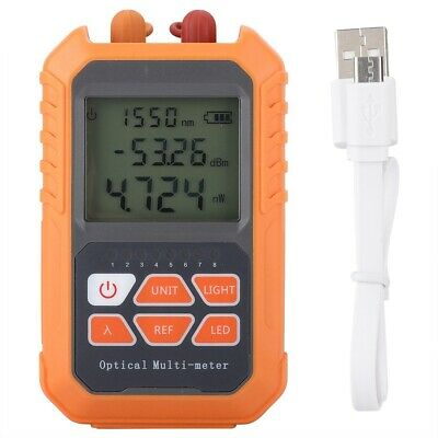 Fiber Optic Power Meters 5MW Visual Fault Locator RJ45 Network Test Tool WT