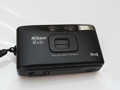 Tested Nikon AF600 Film Compact Camera 28mm Lens Panorama