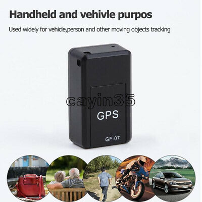 Mini Magnetic GSM GF07 SPY GPS Tracker Real Time Tracking Locator Device For Car
