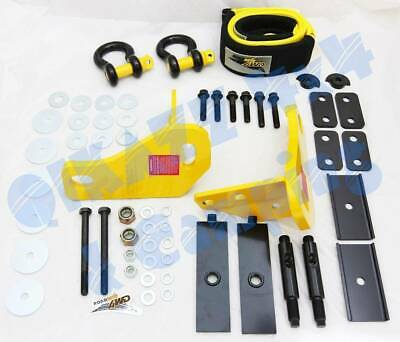 Roadsafe 4wd Nissan Patrol Y62 HD Recovery Tow Point Kit