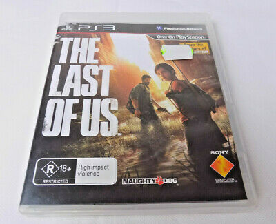 Mint Disc Playstation 3 Ps3 The Last of Us Includes Manual -  Free Post