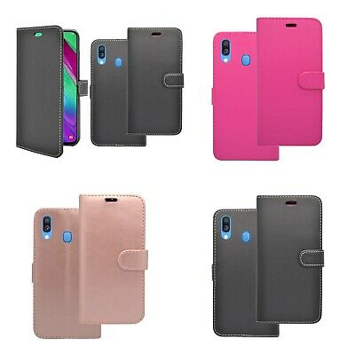 Case For Samsung Galaxy A40 2019 Wallet Flip PU Leather Stand Card Slot Cover