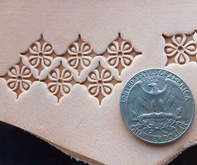 New Fancy Decoration Star Custom Made Leather Stamp Leathercraft Tool