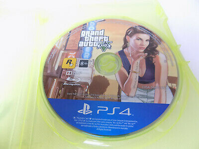 Ps4 Playstation 4 Grand Theft Auto GTA V (Five 5) Free Postage