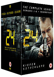 24 Series 1-8 Complete (DVD)new sealed