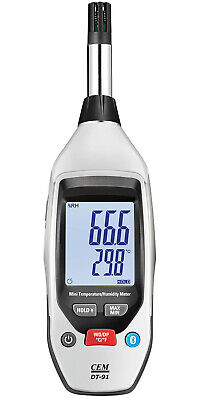 Hygrometer Thermometer temperature and humidity meter logger Bluetooth with App